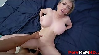 Big Tits Blonde MILF Step Mom Fucked By Step Son After Yoga POV