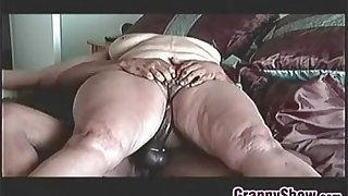 Big Granny On Riding Some Thick Cock